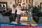 Surprise Polres Jember di HUT TNI Ke 76 Untuk Yonif Raider 509