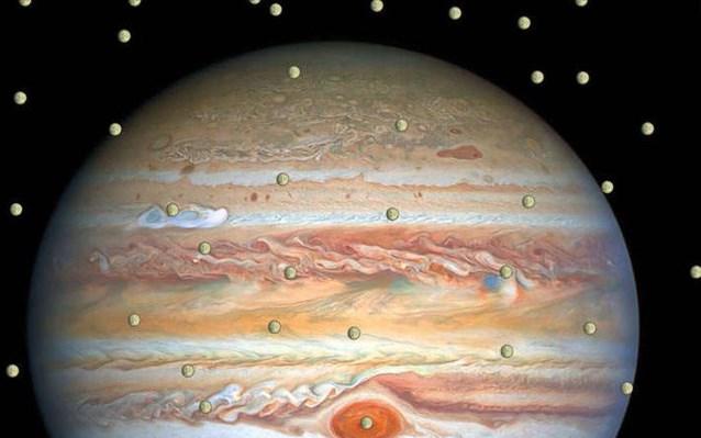 Ερασιτέχνης αστρονόμος ανακάλυψε νέο δορυφόρο του Δία
