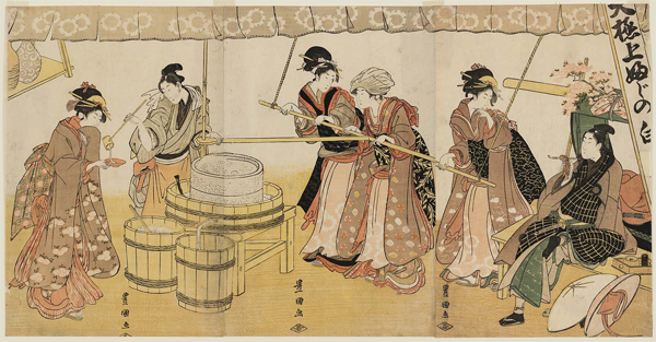 A brief history of Sake