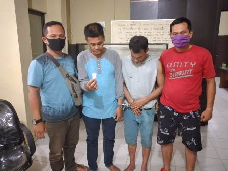Miliki 10,20 Gram Sabu, Duo Sekawan Diciduk Polres Tanjung Balai.