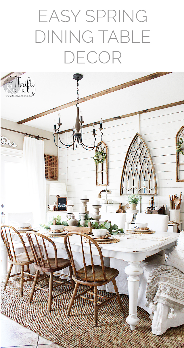 spring dining room decor, spring dining table decor, dining room wall decor, dining room ideas, how to decorate for spring, spring decor tips, dining room decorating tips