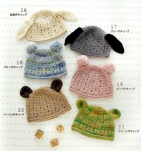 Tutorial Gorros con Orejas de Crochet