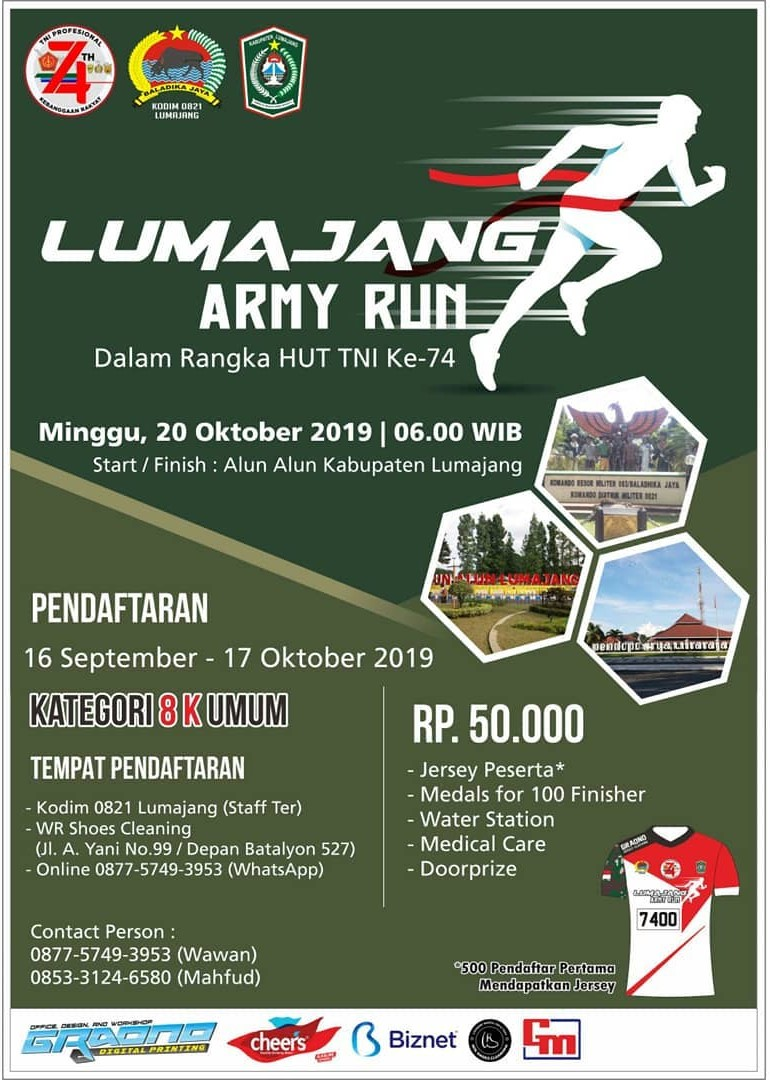 Lumajang Army Run • 2019