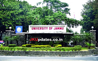 Govt Jobs in JU, J&K Govt Jobs, jammu university, Jammu University Jobs, JU Jobs, University Jobs, JKUpdates jobs,
