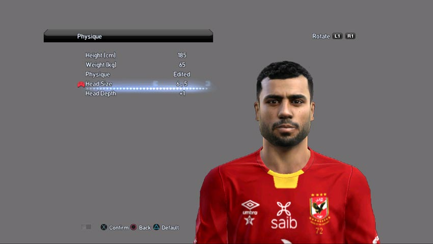 Hossam Hassan Face For PES 2013