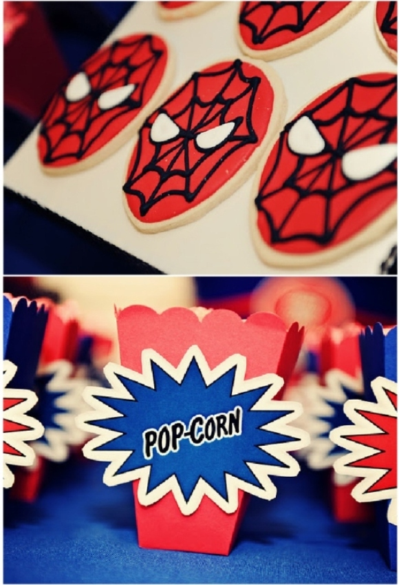 Boys Party Ideas: A Spiderman Inspired Super Hero Birthday
