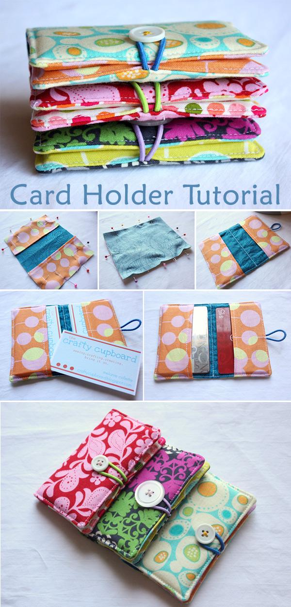 Business Card Holder Tutorial