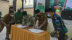 Dihadiri Katib Aam PBNU, PCNU Makassar dan Pemkot Teken MoU perkuat Iman