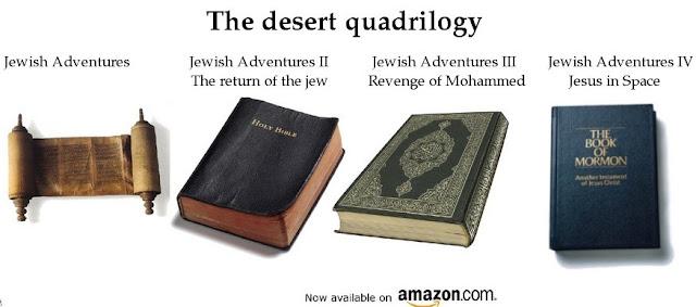 Funny Desert Quadrilogy Joke Picture