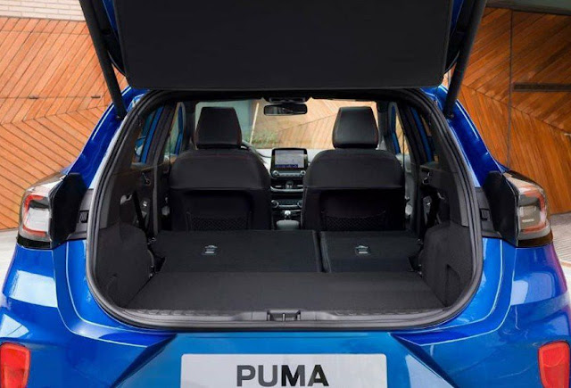 2020 ford puma interior