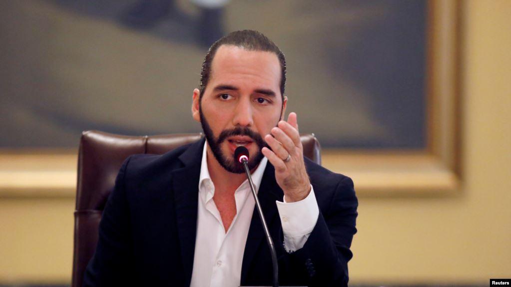 El presidente de El Salvador, Nayib Bukele, dijo el lunes 15 de julio de 2019 que su país está trabajando para reducir la migración irregular y combatir la delincuencia y el narcotráfico / REUTERS