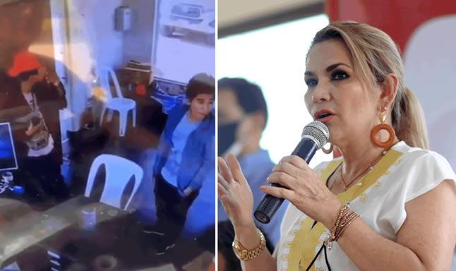 Jeanine Añez denuncia acoso permanente del MAS en su contra