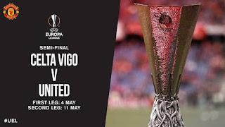 Hasil Undian Semifinal Liga Europa: Manchester United Bertemu Celta Vigo