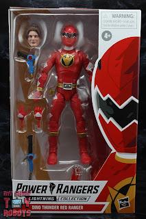 Power Rangers Lightning Collection Dino Thunder Red Ranger Box 01