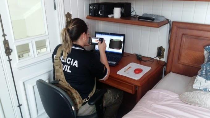 Operação internacional de combate a pedofilia apreende computador em Cachoeirinha