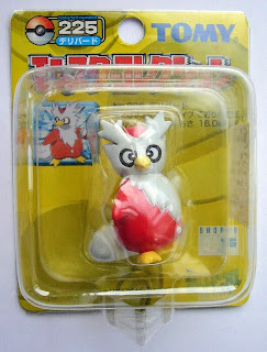 Delibird  Pokemon figure Tomy Monster Collection yellow package series
