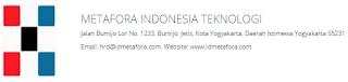 Lowongan Kerja di Metafora Indonesia Teknologi