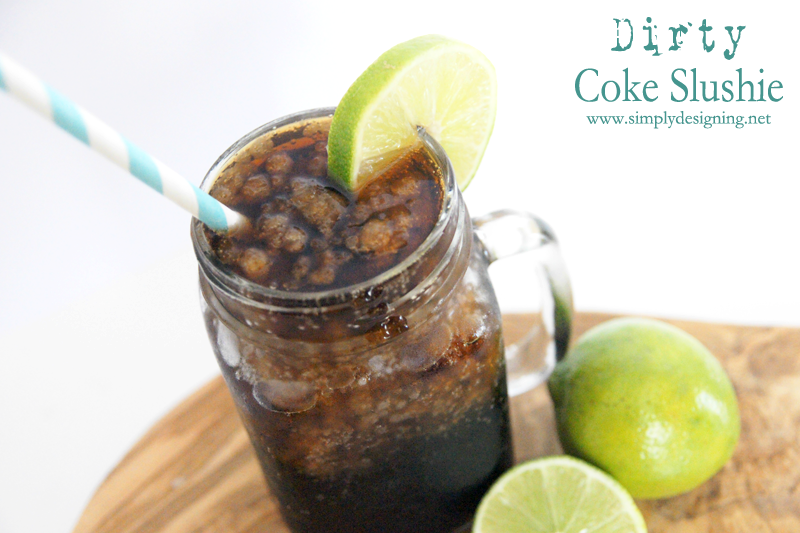 Dirty Coke Slushie | this is the perfect summer drink! Definitely pinning for later! | #shareitforward #shop #coke #dirtycoke #recipe #drinks