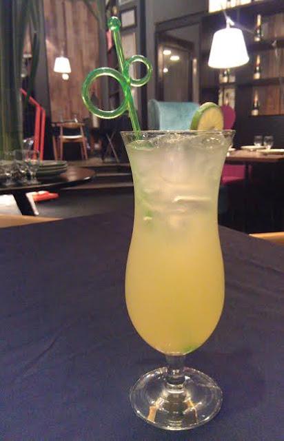 Celadon, Kuala Lumpur - lime juice