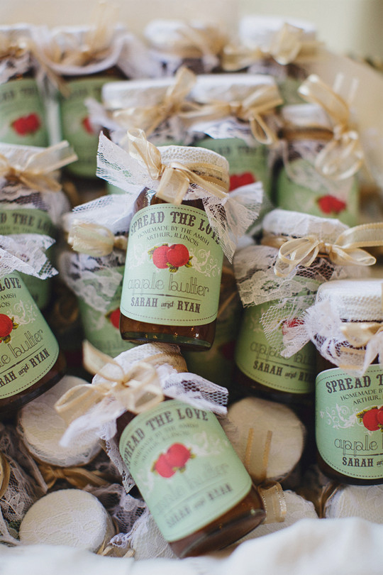 BBQ diy Wedding Favors Country Rustic wedding ideas