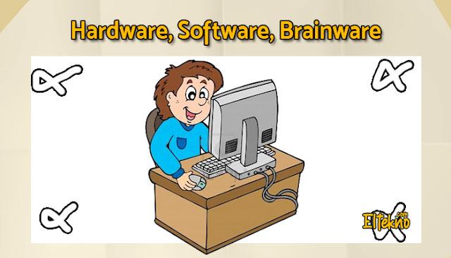 Pengertian Lengkap Software, Hardware dan Brainware