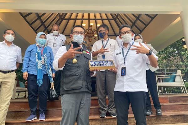 Sandiaga dan Ridwan Kamil Buka Peluang Duet di Pilpres 2024