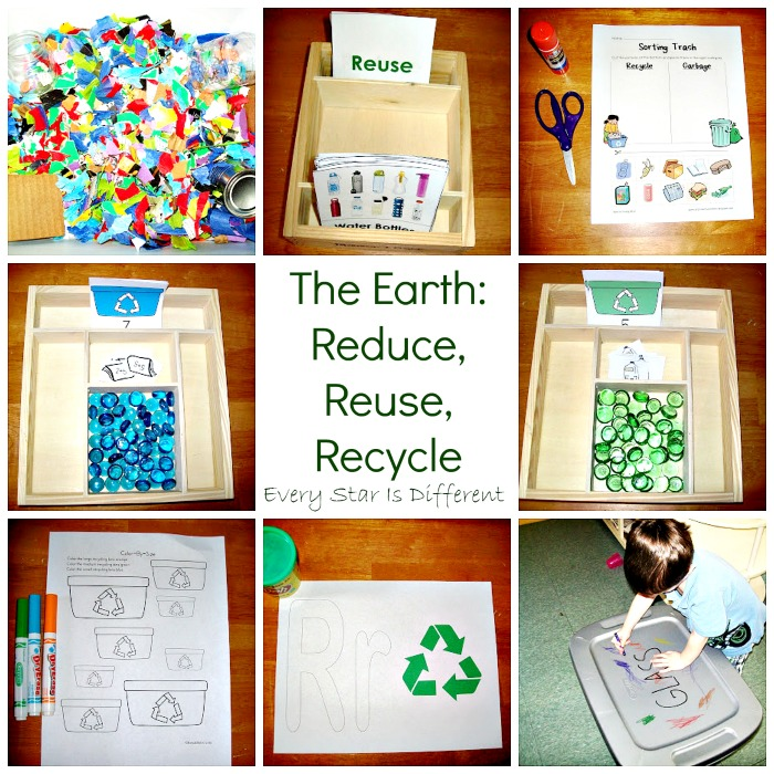 The Earth:  Reduce, Reuse, Recycle