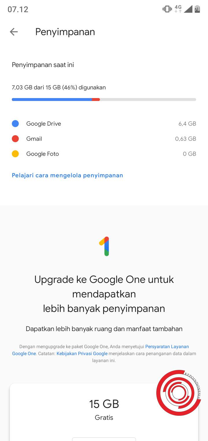 Cara Cek Sisa Kapasitas Penyimpanan Akun Google Drive Kita Kepoindonesia