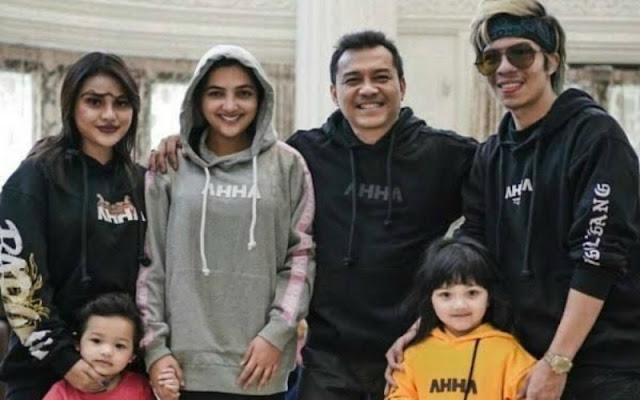 Momen Atta Halilintar Berfoto Bersama Keluarga Anang Hermansyah