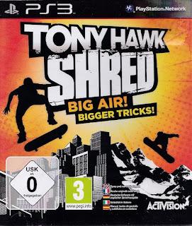 Tony Hawk Shred PS3 Torrent