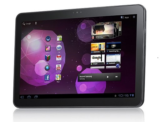 Samsung Galaxy Tab 10.1 now receiving Android 4.0 Ice Cream Sandwich software update
