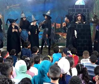 Na Semana do Dia das Crianças, teatro Infantil nas escolas municipais