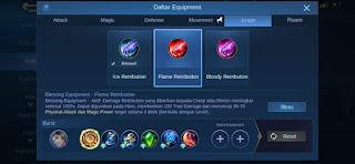 Perbedaan Antara Ice Retribution, Flame Retribution, dan Bloody Retribution di Mobile Legend