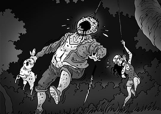 Silent Horror chap 99: Sinh tồn
