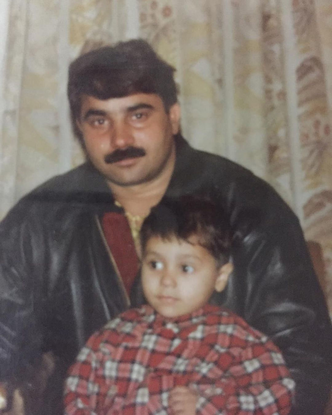 Harsh with his Father