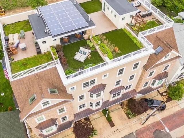 Pagar Minimalis di Bagian Rooftop