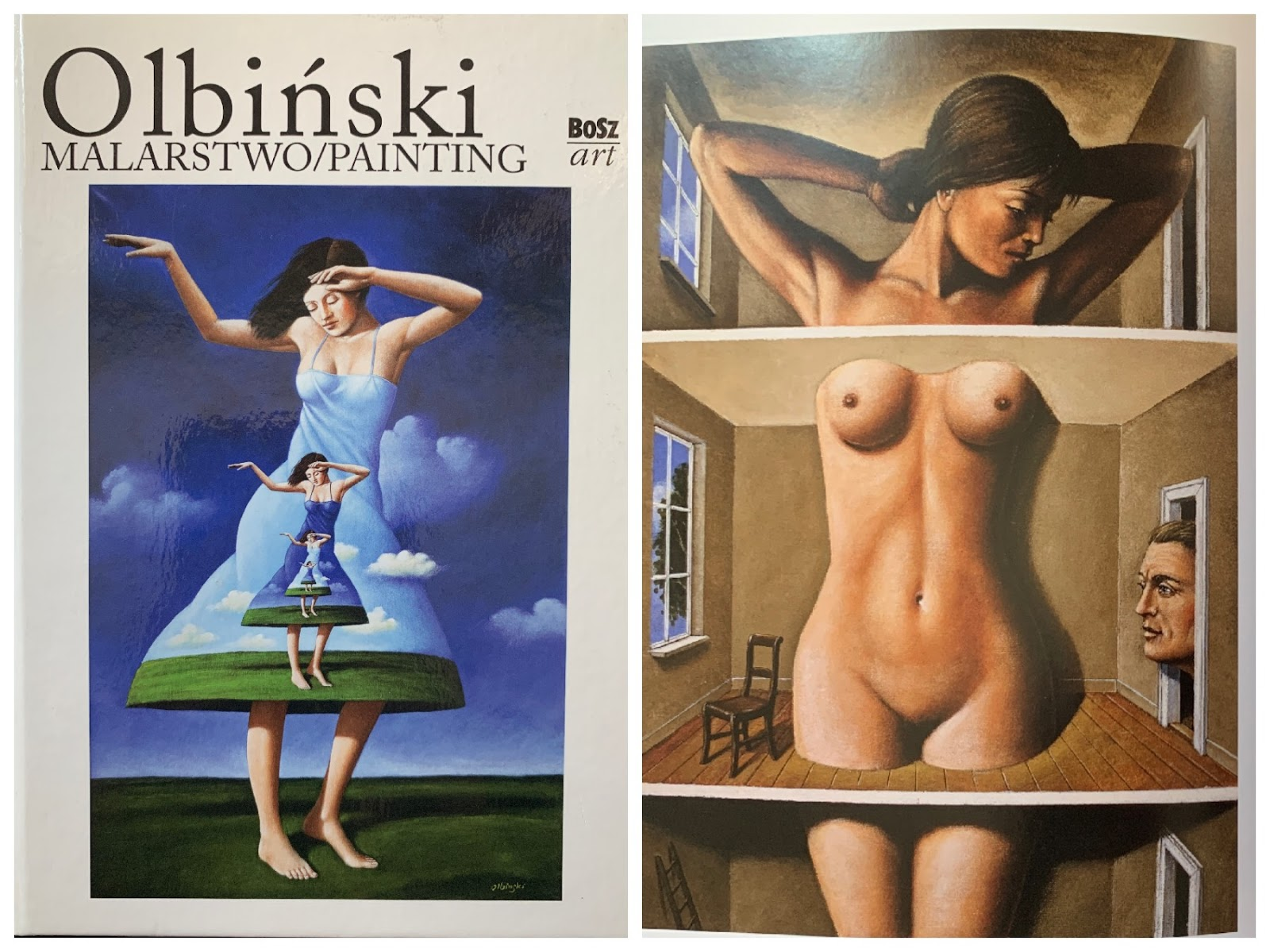 Album Rafał Olbiński malarstwo surrealizm