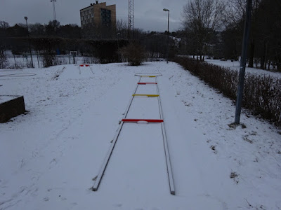 NIFO Steel Minigolf course at Solna Bangolfklubb in Sweden
