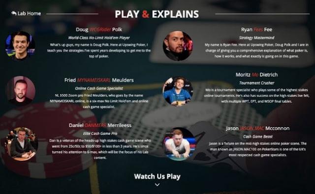 Upswing Poker Lab vs Masterclass tournaments