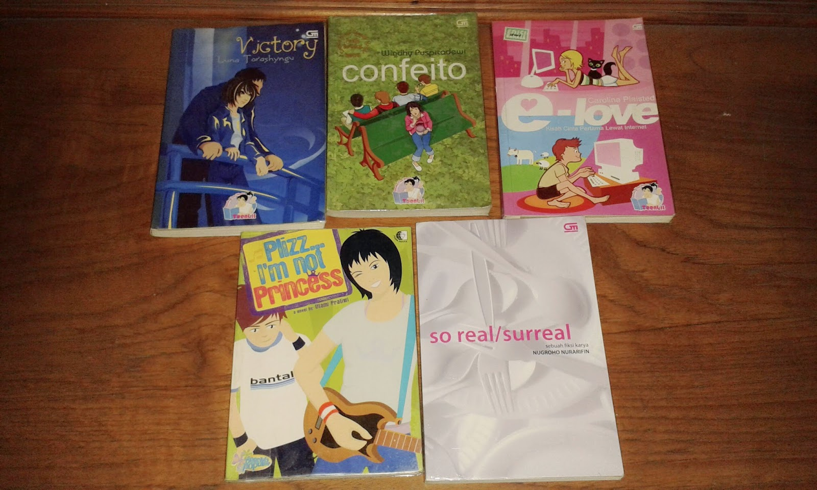 Kumpulan Sinopsis Buku Monthly Giveaway Lets Celebrate