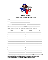 Texas State Waiver Form