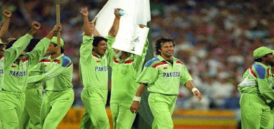 When did Pakistan win the Cricket World Cup?