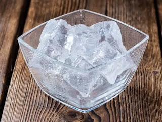 Menghilangkan Biduran Dengan  Es