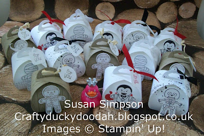 Stampin Up! UK Independent  Demonstrator Susan Simpson, Craftyduckydoodah!, Christmas Project Day 2016, Table Gifts, Cookie Cutter Halloween, Curvy keepsake Die, Supplies available 24/7,