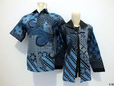 Model Baju Batik Kantor Terbaru 2017