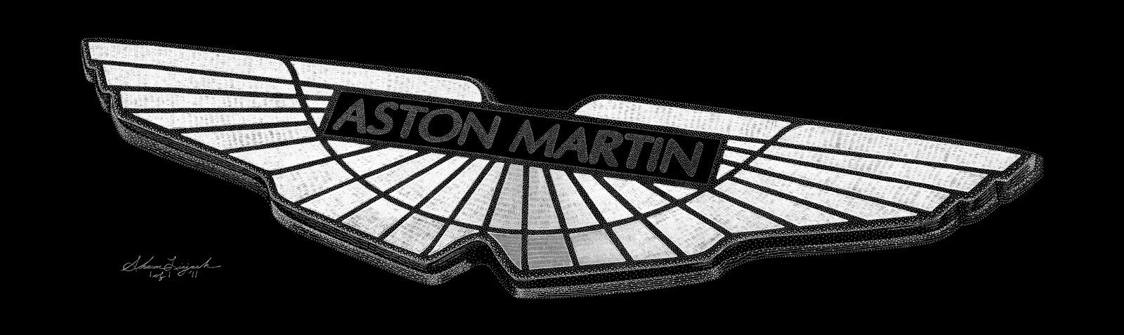 Aston Martin Logo >> Exotic Engravings: Aston Martin Logo