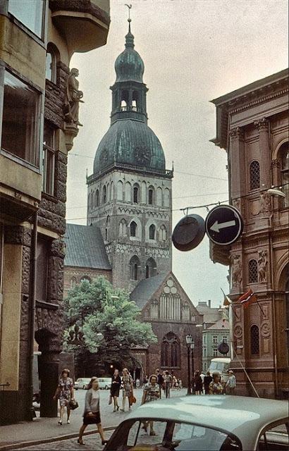 1975 год. Рига. Домский собор