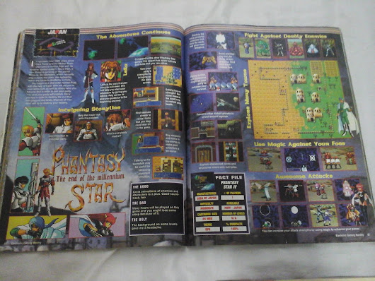 Phantasy Star IV, noticias de revistas nos anos 90