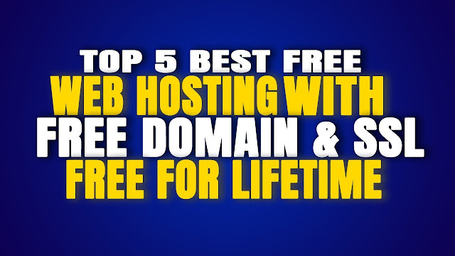 Free Hosting with Free SSL and Free Domain