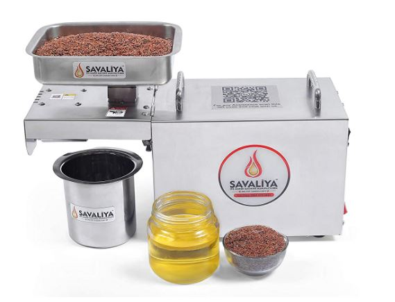 Savaliya Home Use Oil Maker Machine SI-702. :: Made in India